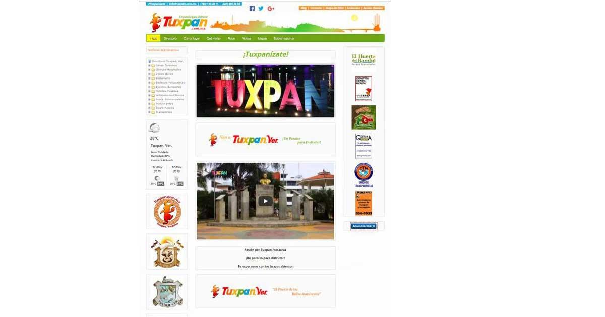 Rediseño Web Tuxpan.com.mx