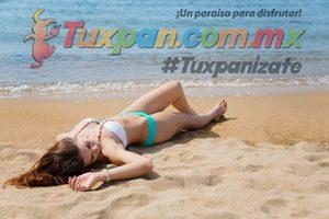 Broncearse en la Playa de Tuxpan