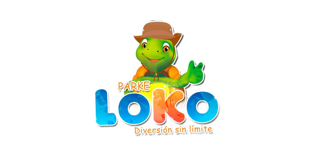 Logo parque acuático El Loko en Tuxpan, Ver.
