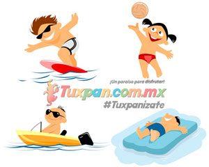 Ir con niños a la playa de Tuxpan, Veracruz