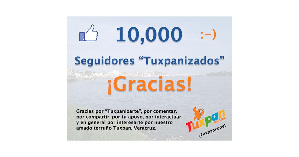 10000 seguidores en Facebook