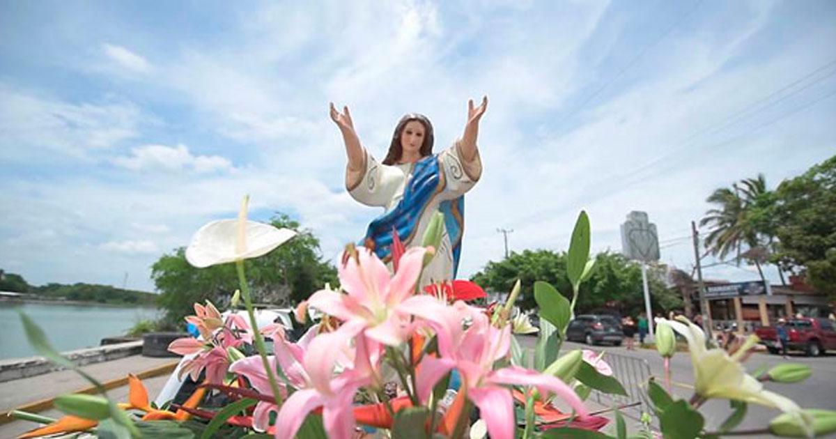 Día de la Virgen de la Asunción en Tuxpan, Veracruz