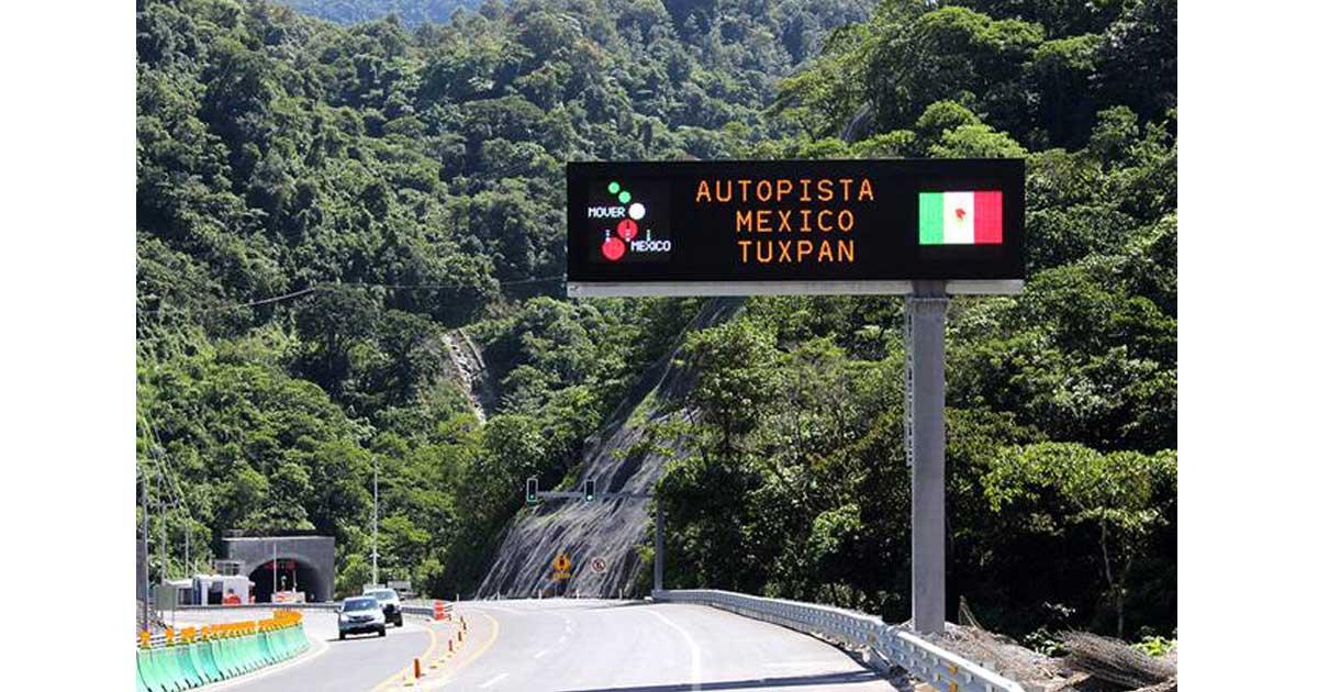 Precio casetas autopista México-Tuxpan