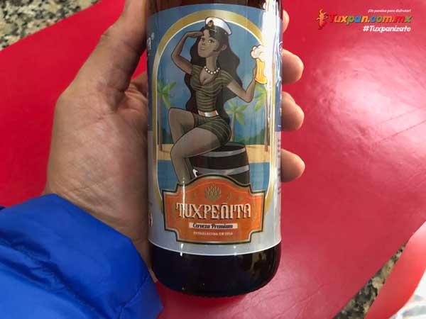 Cerveza Tuxpeñita logo