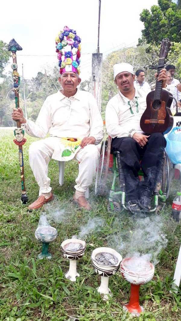 Ceremonia de purificación y ofrendas en Tumilco - Tuxpan, Ver.