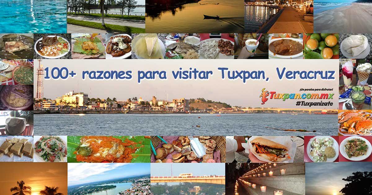 100 razones para visitar Tuxpan, Veracruz, México
