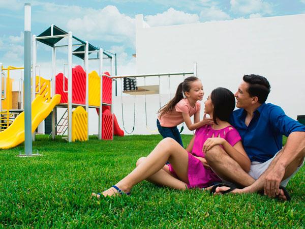 Áreas recreativas en residencial Valle Alto en Tuxpan, Veracruz.