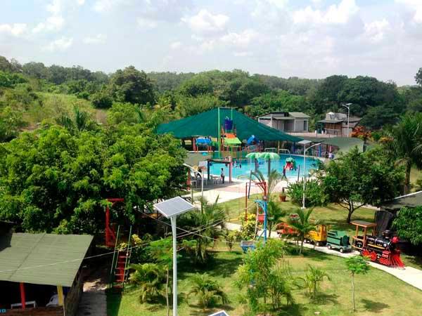 Atractivos del parque Loko en Tuxpan, Veracruz