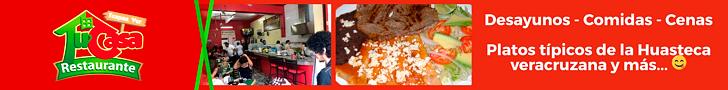 Banner Web Restaurante Tu Casa en Tuxpan, Veracruz, México