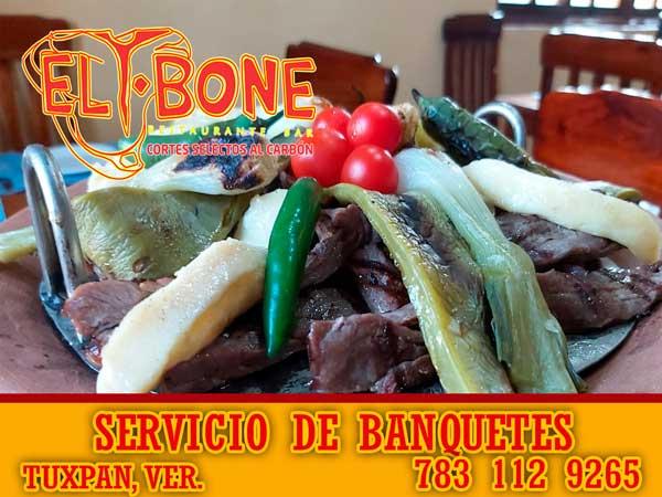 Banquetes en el Restaurante T-Bone en Tuxpan