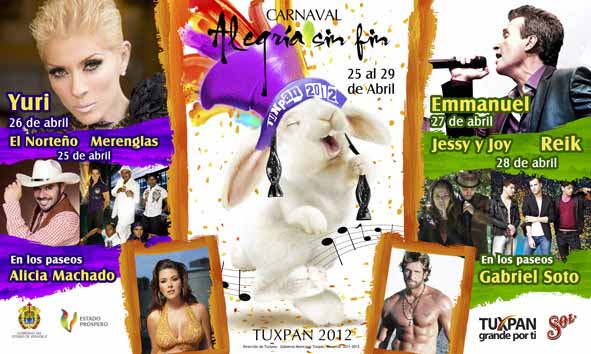 Carnaval Tuxpan 2012
