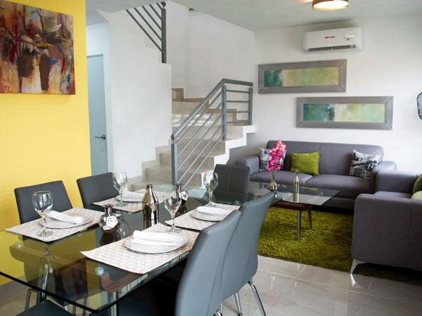 Sala casas Valle Alto en Tuxpan, Ver.