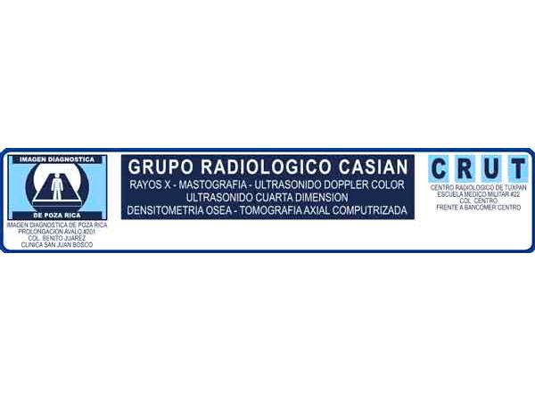 Centro Radiológico Casián CRUT en Tuxpan, Veracruz