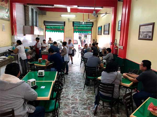 Interior del Restaurante Tu Casa en Tuxpan, Veracruz