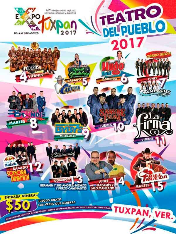 Expo Feria de Tuxpan, Veracruz 2017