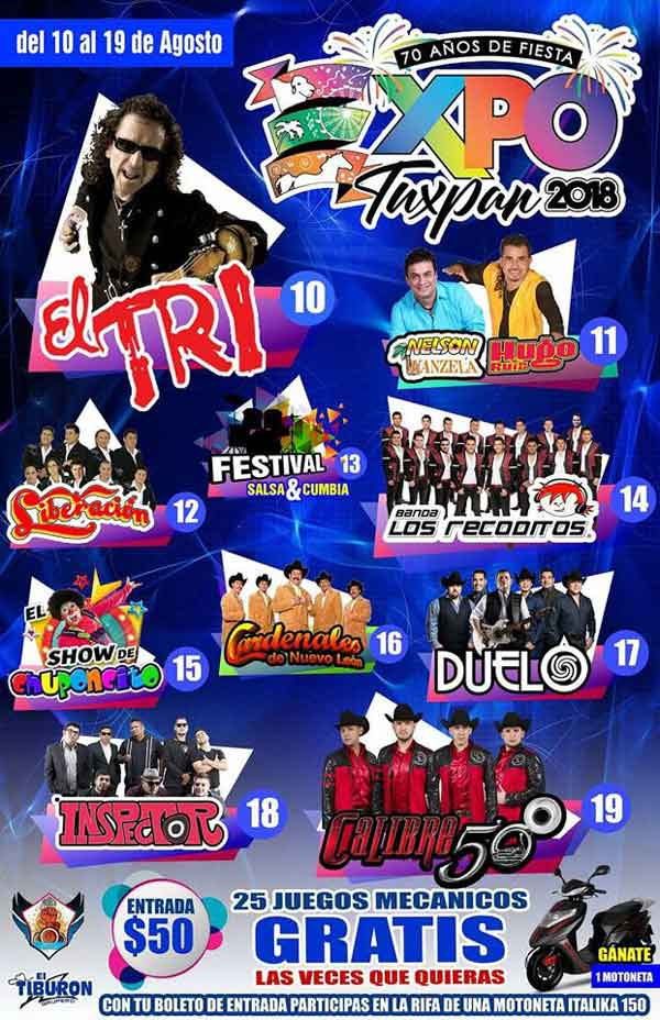 Expo Feria de Tuxpan, Veracruz 2018
