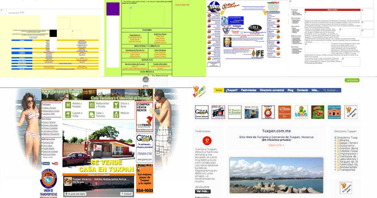 Historia de la Web Tuxpan.com.mx