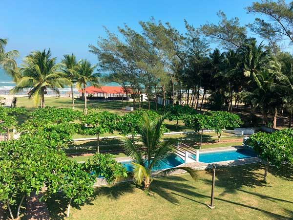 Hotel mediterráneo en la playa de Tuxpan, Veracruz