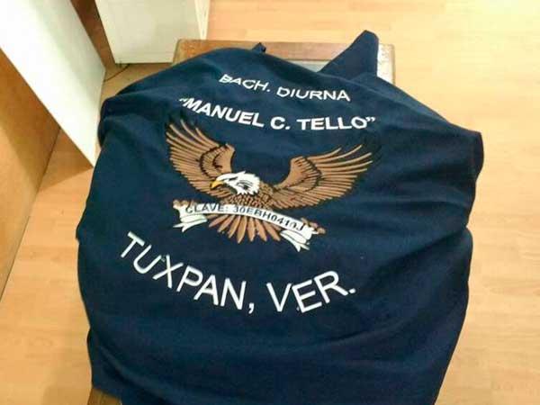 Bordados de escudos en Tuxpan, Veracruz de Daap Imagen 2