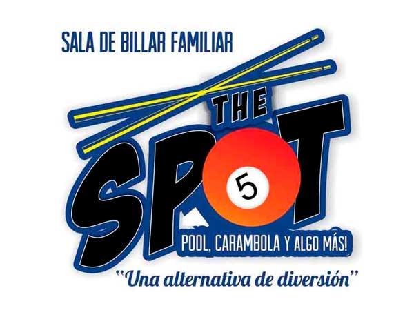 Logo billar The Spot en Tuxpan, Veracruz