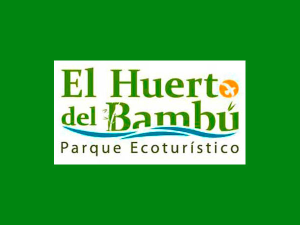 Logo del Huerto del Bambú en Tuxpan, Ver.