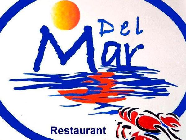 Logo del Restaurante del Mar en Tampamachoco en Tuxpan, Veracruz