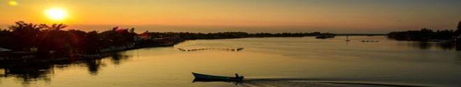 Laguna de Tampamachoco en Tuxpan, Veracruz