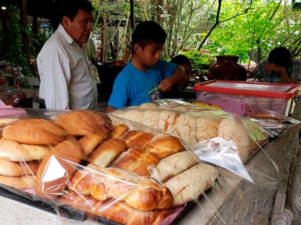 Pan casero tradicional en la Quinta la Esperanza en Tuxpan, Veracruz