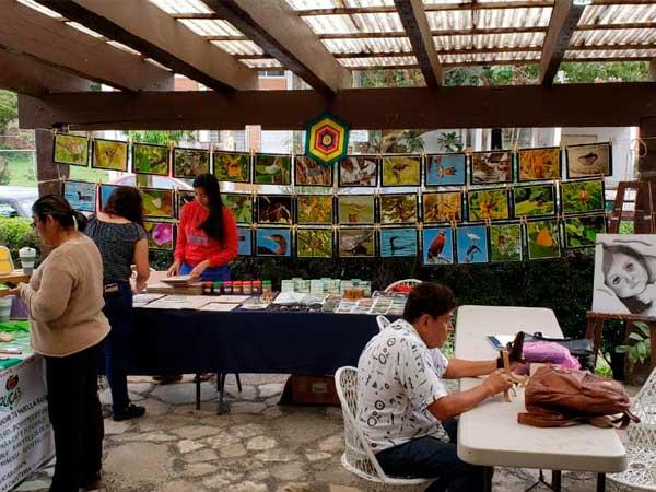 Arte y pintura en la Quinta la Esperanza en Tuxpan
