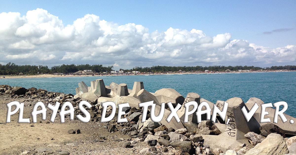 Las playas de Tuxpan son las más cercanas a la Ciudad de México