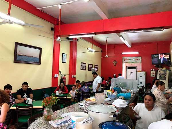 Comida corrida casera del Restaurante Tu Casa en Tuxpan, Veracruz.