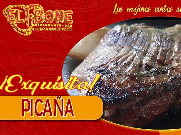 Picaña del restaurante T-Bone en Tuxpan, Veracruz