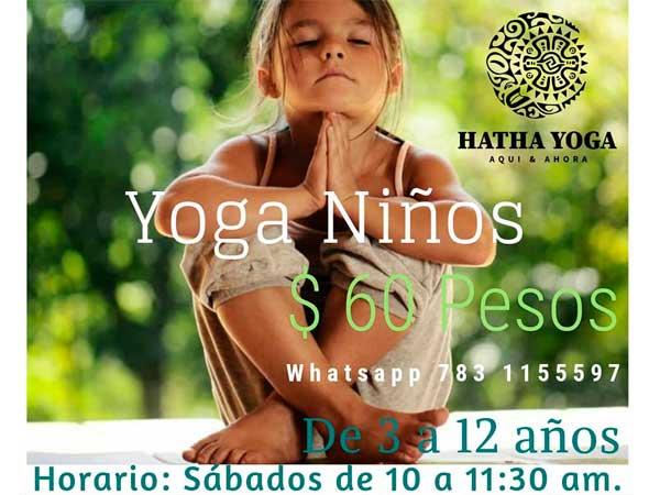 talleres de Yoga en la Quinta la Esperanza en Tuxpan