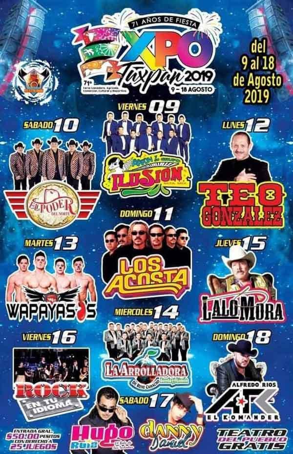 Expo Feria Tuxpan, Veracruz 2019