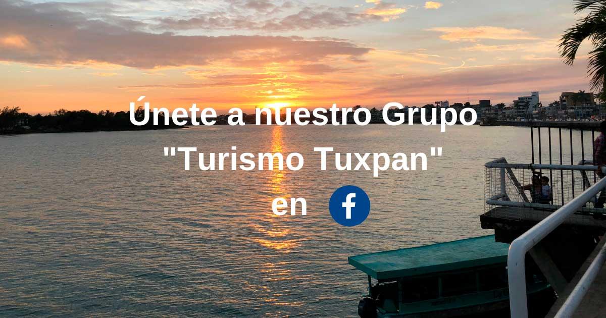 """Únete al Grupo """"Turismo Tuxpan"""" en Facebook :-)"""