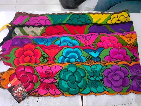 Cinturones artesanos en Tuxpan, Veracruz