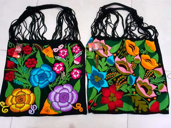 Bolsas artesanales en Tuxpan