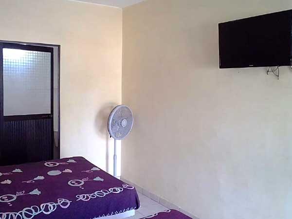 Habitaciones económicas en la playa de Tuxpan del Hotel Paraíso Real