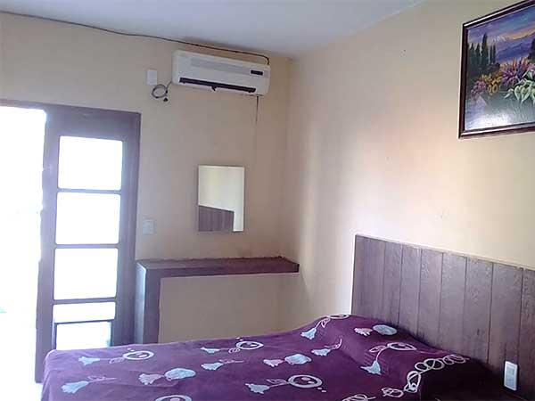 Habitaciones del hotel Paraíso Real en la Playa de Tuxpan, Ver.