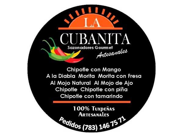 Logo de las Salsas la Cubanita en Tuxpan, Veracruz