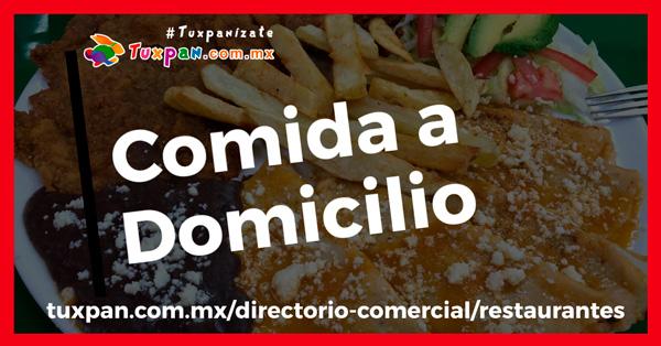 Restaurantes con servicio de comida a domicilio en Tuxpan, Veracruz